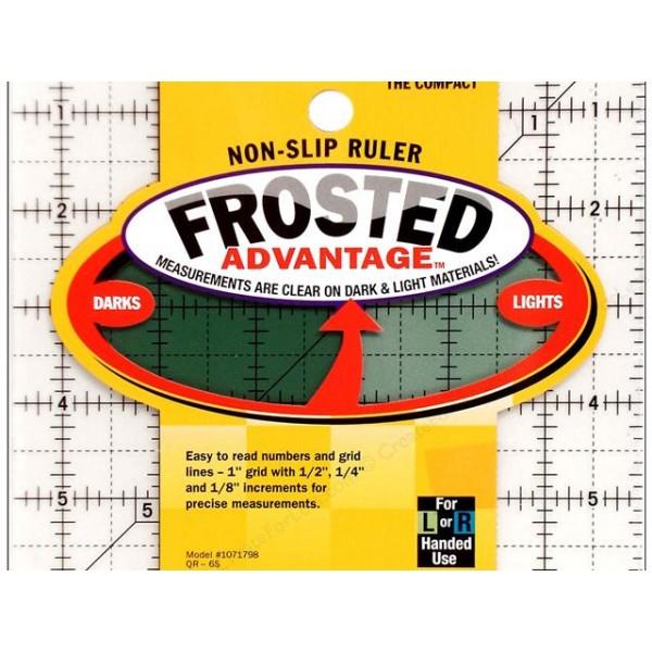 Olfa QR4S 1-Piece Acrylic Quilt Ruler, Transparent