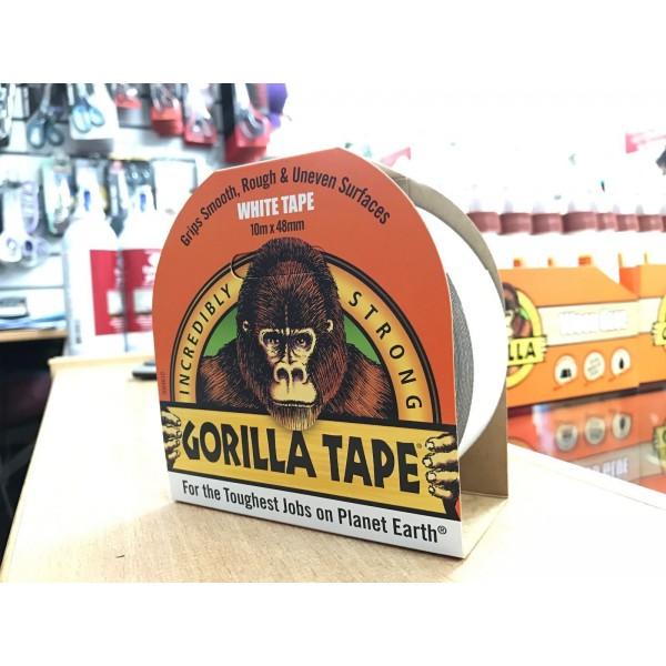 Gorilla White Tape (10m x 48mm)