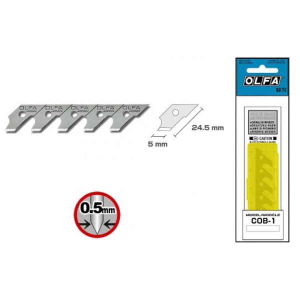 Olfa Spare Blade COB-1 - Fit CMP-1