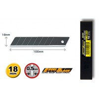 Olfa LBB-10 Spare Blade, 18mm Excel Black Blades