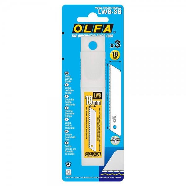 Olfa LWB-3B Solid Serrated-Edge Insulation Blade