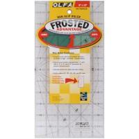 Olfa  QR-6 x 12 1-Piece Acrylic Quilt Ruler, Transparent