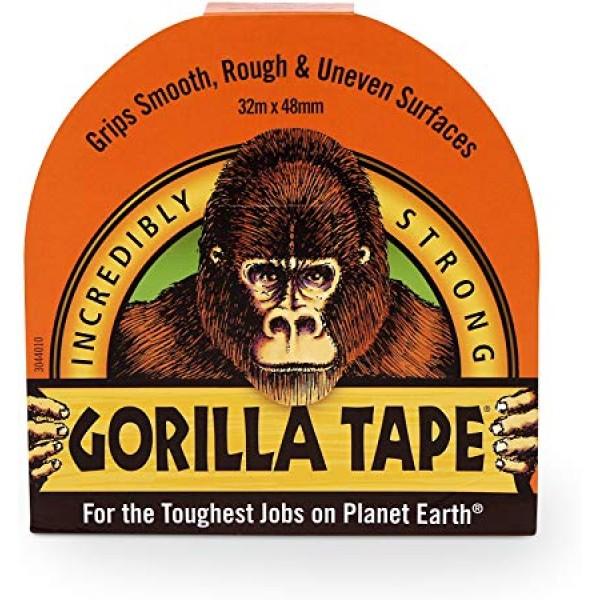 Gorilla Black Tape (32m x 48mm)