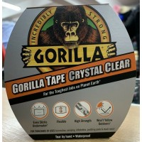 Gorilla Crystal Clear Repair Tape (16.4m x 48mm)
