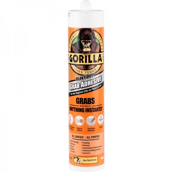 Gorilla Heavy Duty Grab Adhesive (290ml)