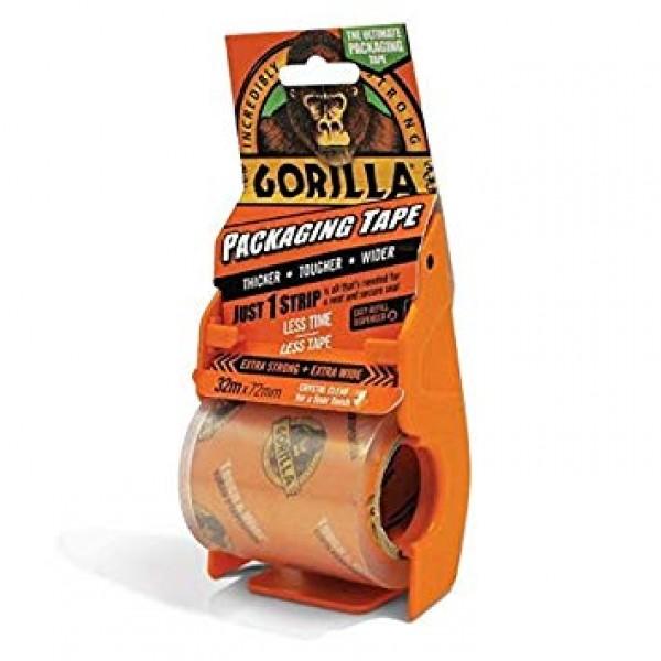 Gorilla Packaging Tape (32m x 72mm)