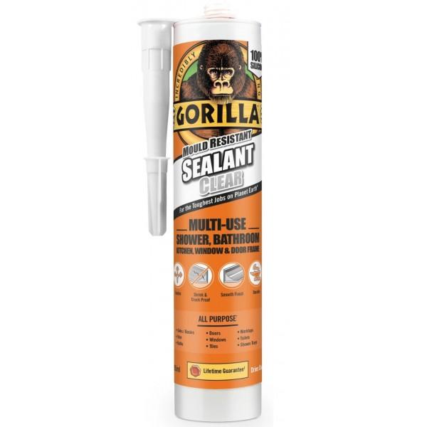 Gorilla Clear Silicone Sealant (295ml)