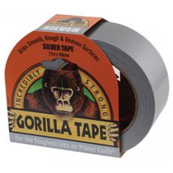 Gorilla Silver Tape (11m x 48mm)